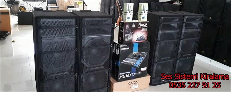 ses sistemi fiyatlari
