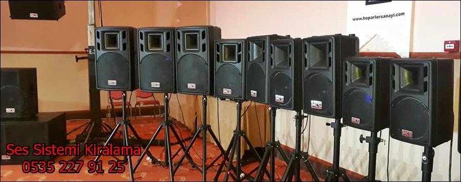 ses sistemi kiralama fiyatlari