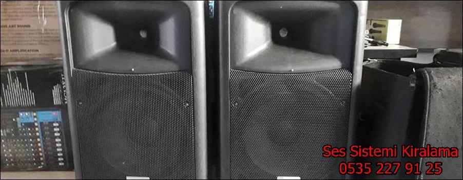 ses sistemi kiralama hizmeti